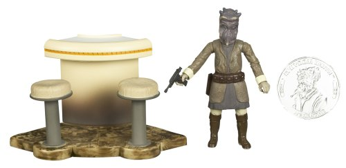 Star Wars 30th Anniversary M'Iiyoom Onith Action Figure #22 with Coin