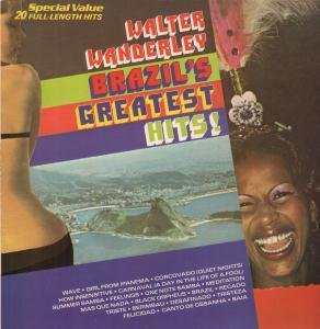 BRAZIL'S GREATEST HITS LP (VINYL ALBUM) UK PRT 1981 by WALTER WANDERLEY
