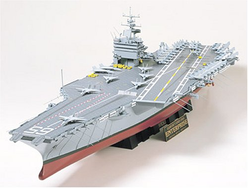 Enterprise U.S Aircraft Carrier CVN-65 - 1:350 Scale Ships - Tamiya