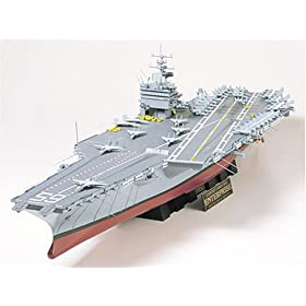U.S.S. Enterprise Aircraft Carrier Ship Model 1:350 Scale
