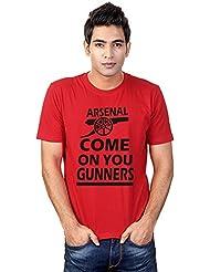Sharq Arsenal COYG Mens 100% Cotton Round Neck TShirt