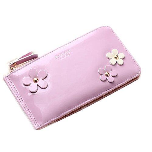 zando-avec-fleur-pour-femme-portefeuille-long-avec-multi-carte-organisateur-poche-avec-fermeture-ecl