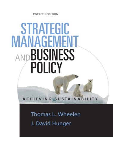Strategic Management & Business Policy: Achieving...