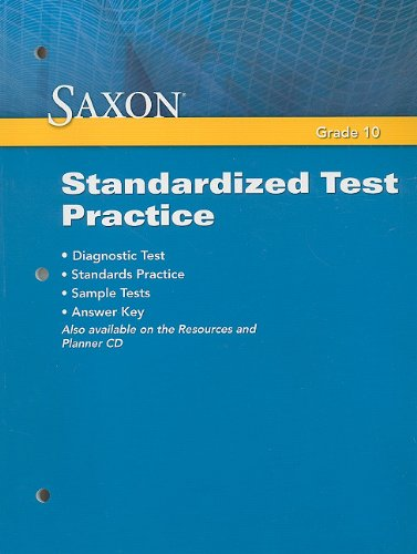 Saxon Geometry: Standardized Test Practice