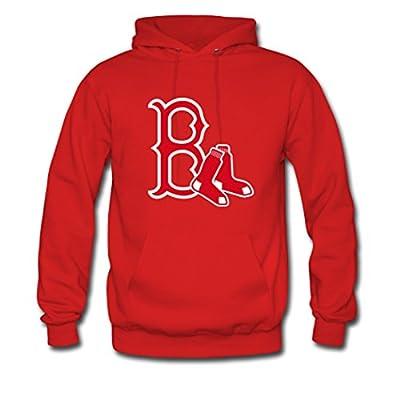 Custom Men Boston Red Sox Hoodies Pullover Sweatshirt