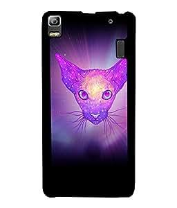 PrintVisa Metal Printed Fox Designer Back Case Cover for Huawei P8-D5123