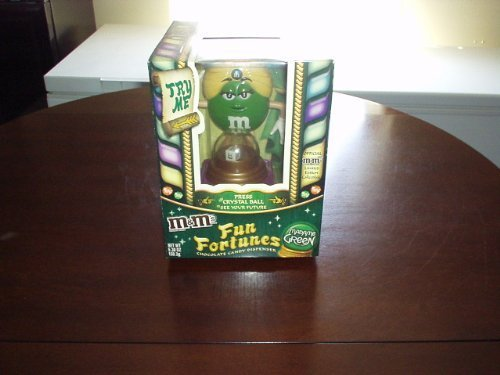 mms-m-and-m-green-fun-fortunes-dispenser-limited-edition-by-mms
