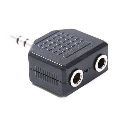 Hde 3.5Mm Mini Stereo Speaker And Headphone Jack Audio Splitter
