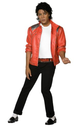 Smiffy's Michael Jackson Red 80s Jacket. Medium or Large. Highly rated by customers.