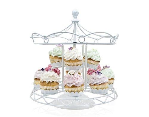 Godinger Carousel Cupcake White (Carousel Cupcake Stand compare prices)