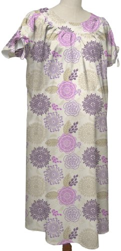 the peanut shell Hospital Gown, Dahlia, Small/Medium - 1