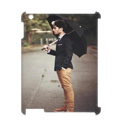 Zayn Malik 3D Personalized Durable Hard Plastic Case Cover LUQ908597 For Ipad2,3,4 Coupon 2015
