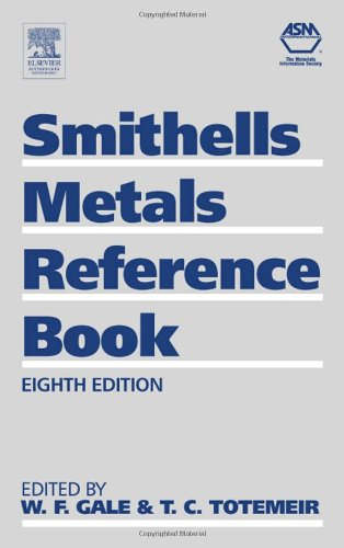 Smithells Metals Reference Book, Eighth Edition
