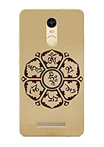 100 Degree Celsius Back Cover for Redmi note 3 (Designer Printed Multicolor)