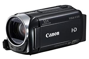 Canon VIXIA HF R40 HD 53x Image Stabilized Optical Zoom Camcorder 8 GB Internal Drive SDXC Card Slot and 3.0 Touch LCD