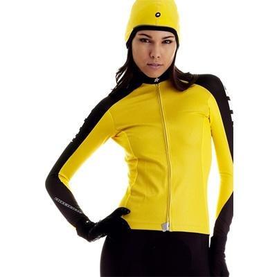 Buy Low Price Assos 2012 Women's IntermediateEvo Lady Long Sleeve Cycling Jersey – Yellow – 12.24.214.30 (B0023FG20C)