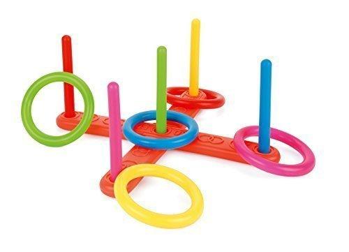Toyrific Tejos Plastic Set ~ Jardín de juguete Juego al aire libre