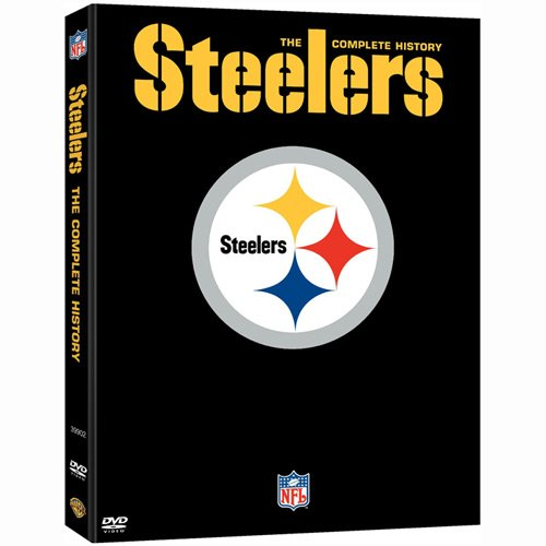 Warner Brothers History of Pittsburgh Steelers DVD Collection