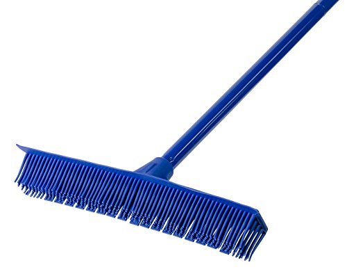 Groom Industries Perky Fur Removing Rubber Broom and Squeegee