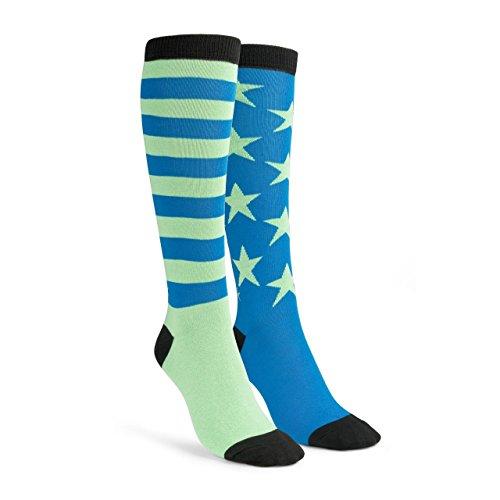 Reebok OST O Tsember Knee Sock-Calzini Uomo, Unisex, OST U Engin Knee Sock, Verde (Seagre), L