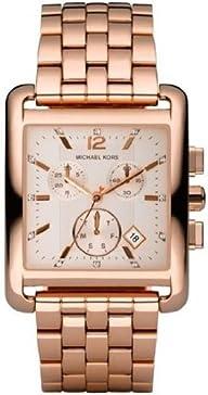 Michael Kors Quartz Gold Dial Rosegold Link Band – Women's Watch MK3142