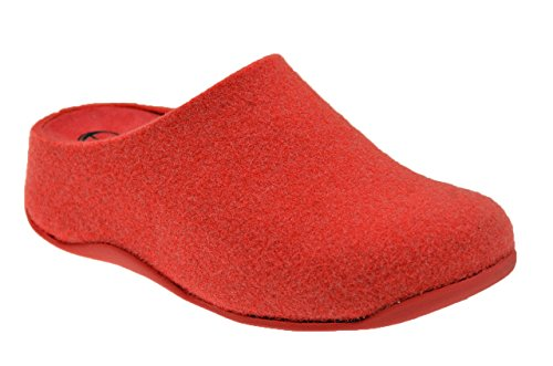 Fitflop? Shuv? Felt Pantofole Nuovo Tg 39 Sca.