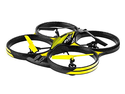 Ninco - Drone Evo con batteria caricatore USB, 320 x 302 x 800 mm, 4 canali e 6 assi