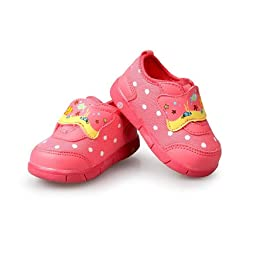 H:oter® Sweet Baby Toddler First Walking Shoes, Squeaky Prewalker Shoes