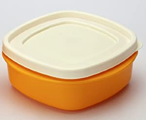 Cutting EDGE Snap Tight Storage 335ml Containers Set Of 4 Orange at amazon