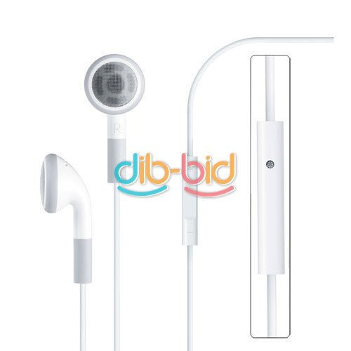 Details About New Earbuds Earphone Headphone W/ Remote Mic For Iphone 4S 4G 3G 3Gs Ipod Touch