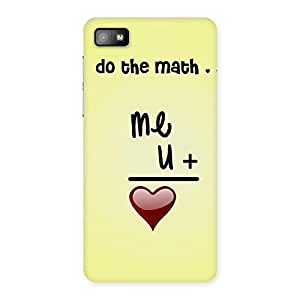 Impressive Love Maths Back Case Cover for Blackberry Z10