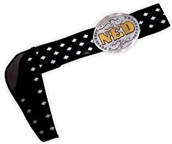 InCogneato Men's The Three Amigos Ned Nederlander Adult Belt One-Size Black