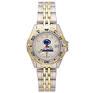 NSNSW21983Q-Ladies All Star Penn State Watch - Stainless Steel by NCAA Officially Licensed