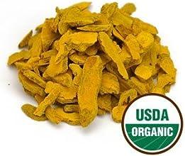 1 LB Organic Turmeric Rhizome Sliced Sulfite-Free 1lb