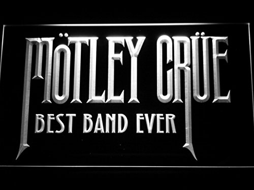 Best Band Ever Motley Crue LED Neon Light Sign Man Cave 328-B