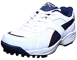 ZIGARO Z12 White Cricket Shoes(6 Ind/Uk)
