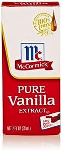 McCormick Pure Vanilla, 2 Oz