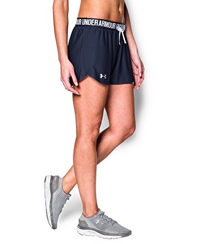Under Armour Women's Play Up Shorts, Midnight Navy (410), X-Large