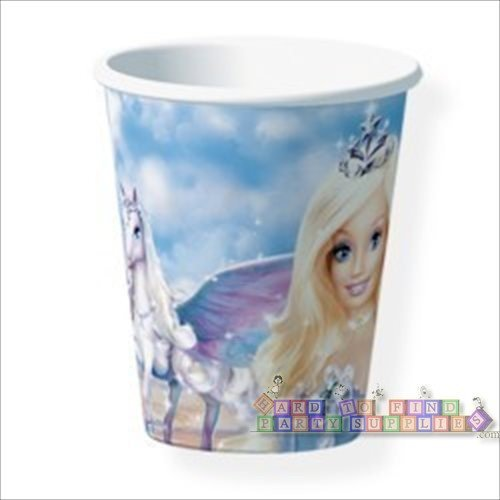 Barbie Magic of Pegasus Cups - 8 Count (9 oz.) - 1