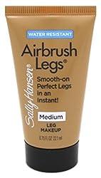 Sally Hansen Airbrush Legs Medium 0.75oz Travel Size Tube (3 Pack)