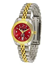 Texas Tech University Ladies Gold Dress Watch