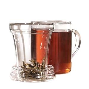 Primula 12-Ounce Personal Tea Maker Set, Clear from Epoca Inc.