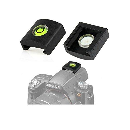 OUBO Blitzschuhwasserwaage für Sony Alpha Kamera Wasserwaage + Blitzschuhabdeckung 2 in 1 f. A33 A35 A37 A55 A57 A77 A99 A290 A390 A450 A500 A550 A560 A580 A900 A100 A200