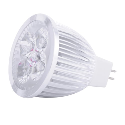 8W Mr16 Home Indoor Led Downlight Bulb Warm White Lamp Spot Light 12V Power.