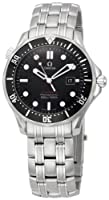 Omega Men's 212.30.41.61.01.001 Seamaster Black Dial Watch from Omega