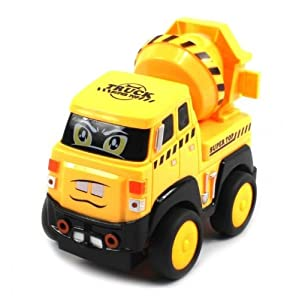 Velocity Toys Construction Cement Electric RC Truck Mini Cartoon RTR w/ Lights and Sounds at Sears.com