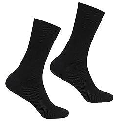 Supersox Men's Health Socks for Low Blood Pressure - Pack of 2