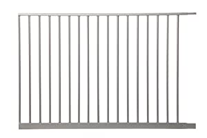 Dreambaby 105cm Wide Extension Gate for Newborn (Silver)