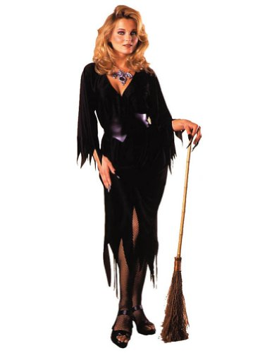 Bewitching Witch Halloween Costume - Adults up to 12