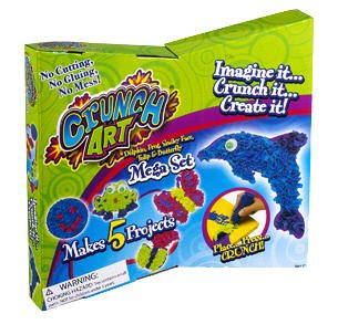 Little Kids Crunch Art Mega Set Assorted Styles - 1
